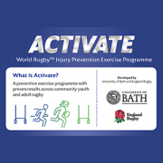 World Rugby injury prevention programme
